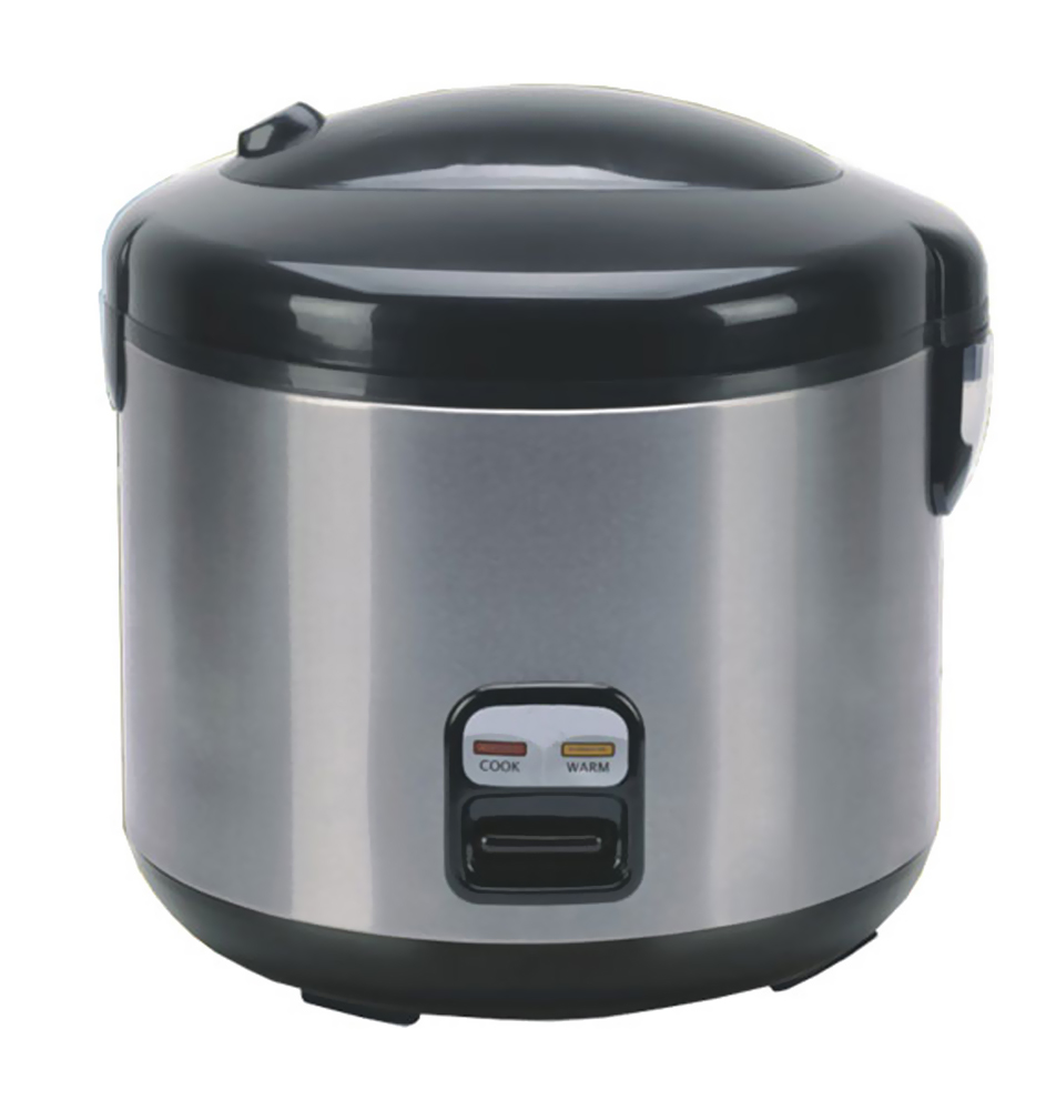 Sunpentown 6-cups Rice Cooker with Stainless Body-SC-1202SS