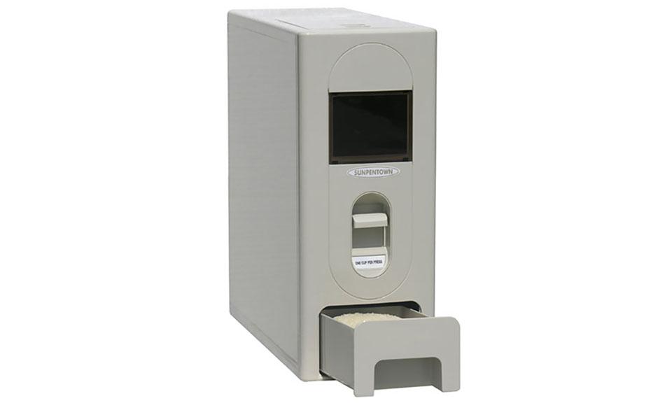 Sunpentown Rice Dispenser - 22lbs capacity