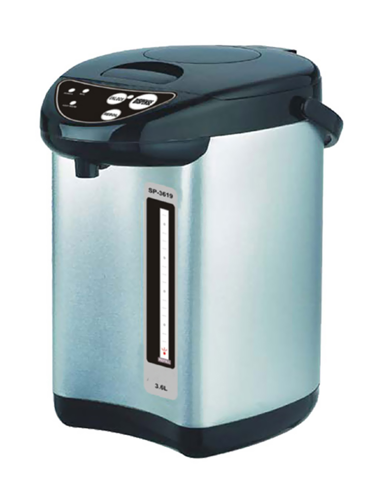 Sunpentown 3.6L Hot Water Dispenser with Dual-Pump System - Stainless Steel