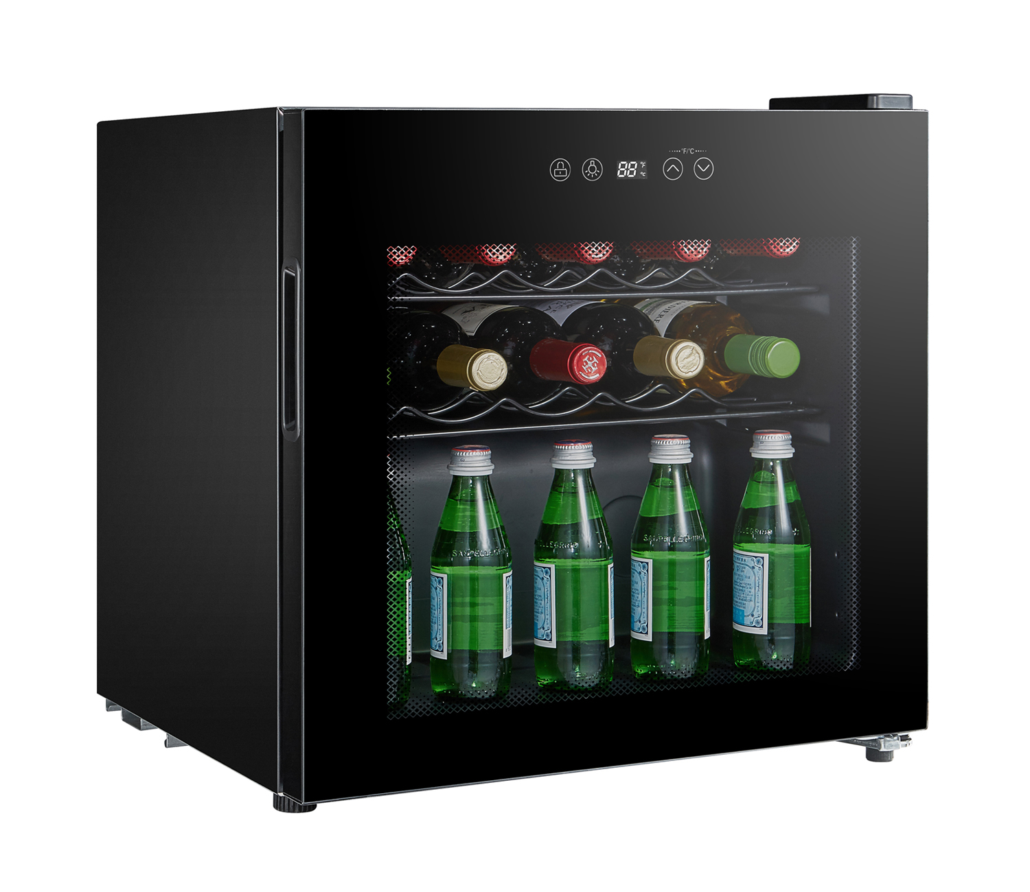 Sunpentown Single Zone Compressor Wine Cooler (16-bottles)