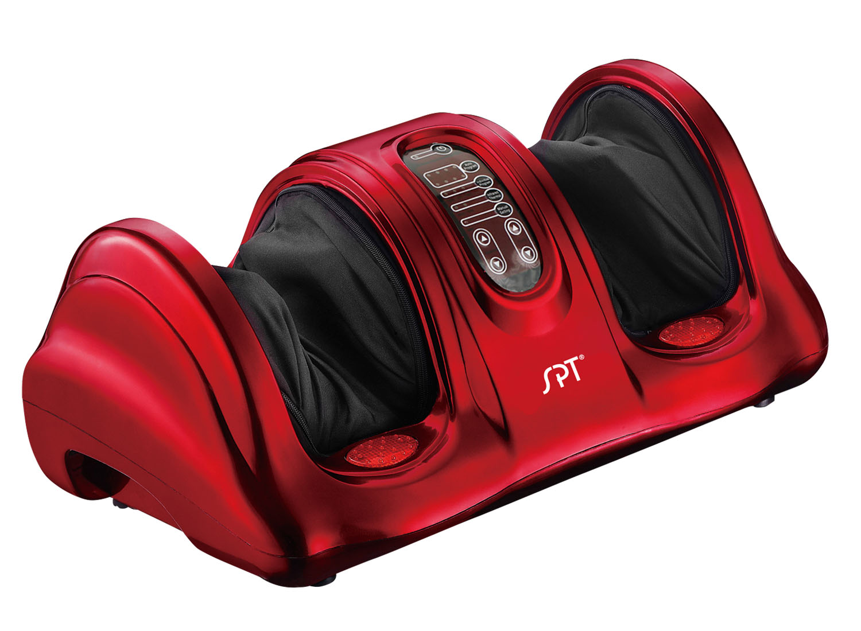Sunpentown Reflexology Foot Massager with Heat & FIR - Red