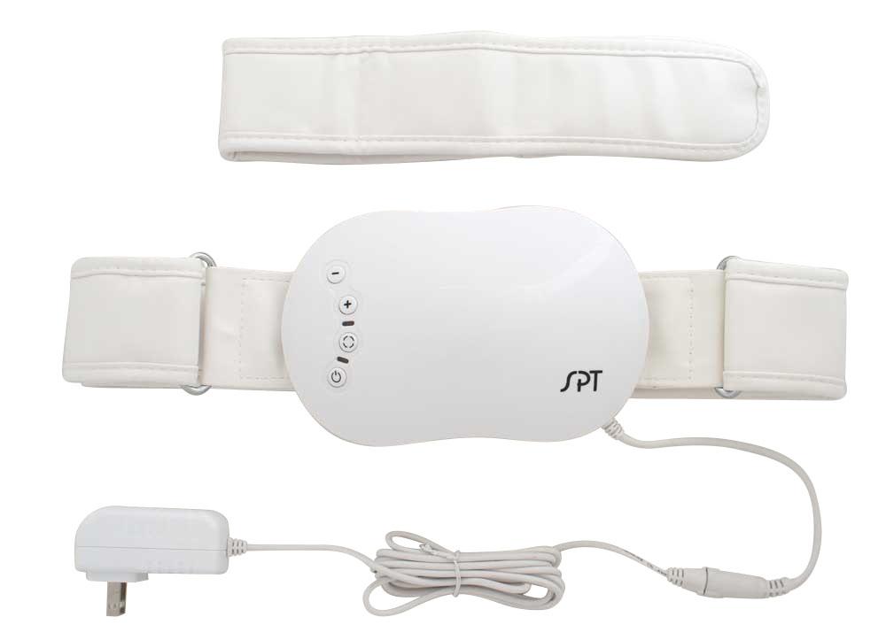 Vibrating Massager with Adjustable Belt