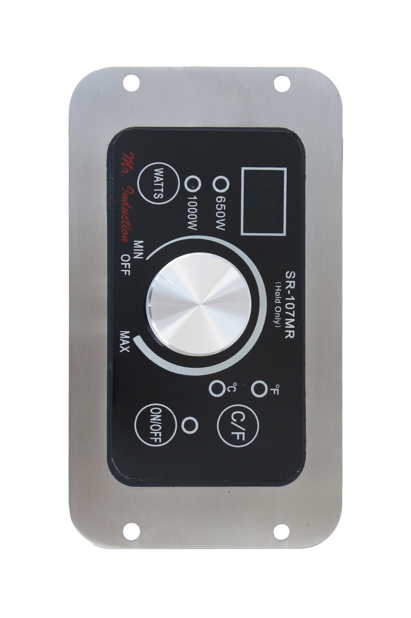 Mr.Induction Built-In (Hold Only) Front Mounting Induction Warmer