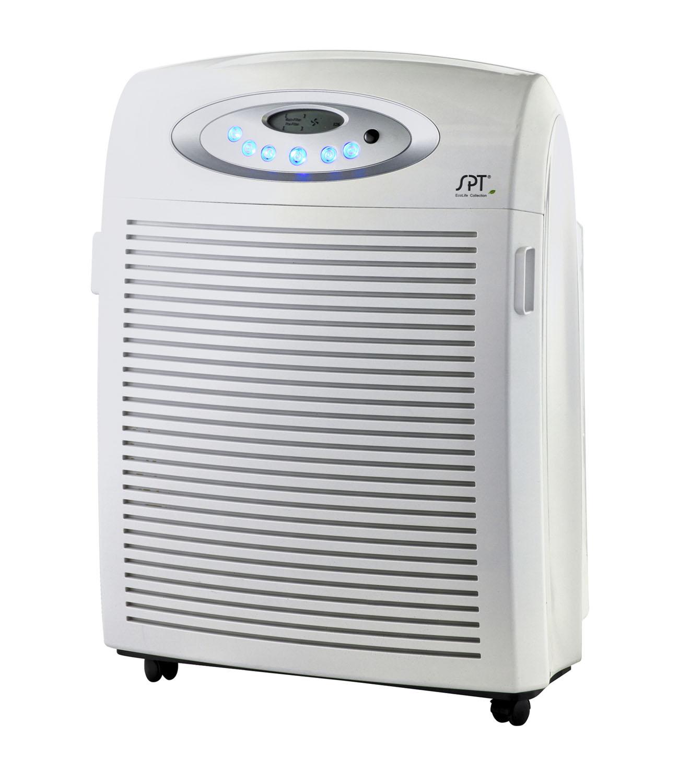 Sunpentown DC-Motor Air Cleaner with Plasma, HEPA & VOC