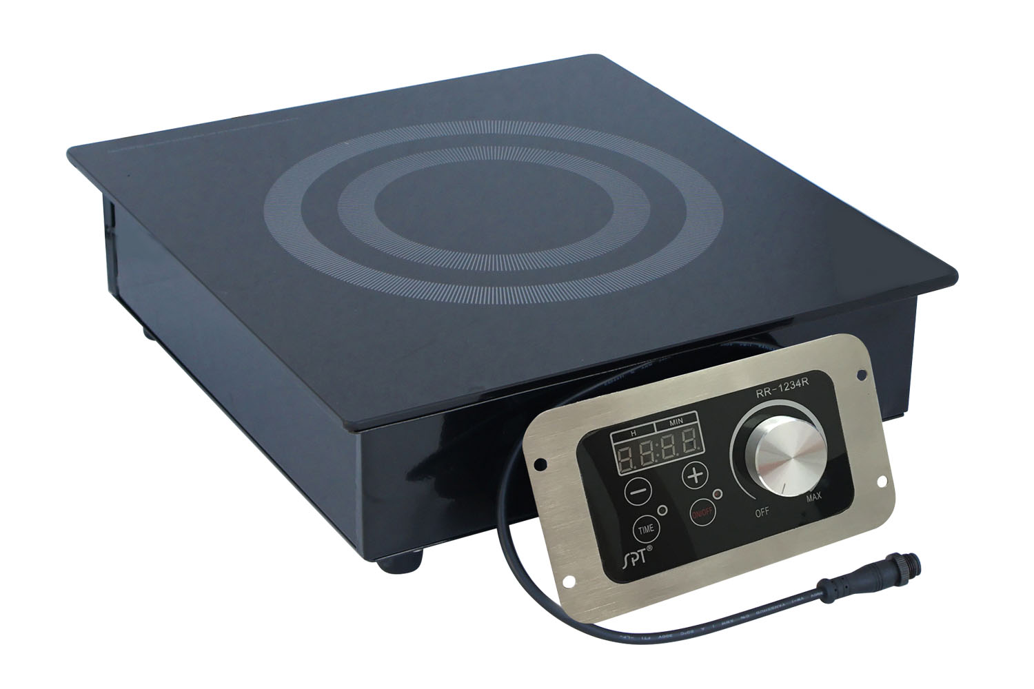 Sunpentown 1400W Built-In Radiant Cooktop (commercial grade)