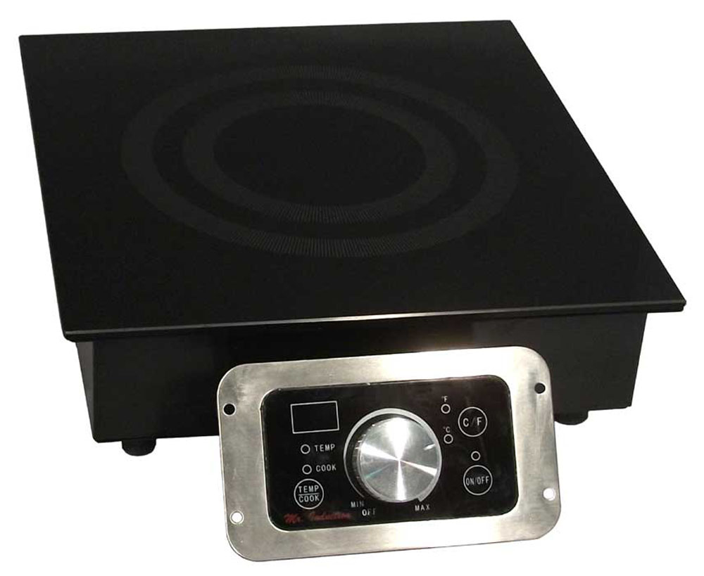 Sunpentown 1800w Built-In Commercial Range Induction Cooktop With Temperatue Display