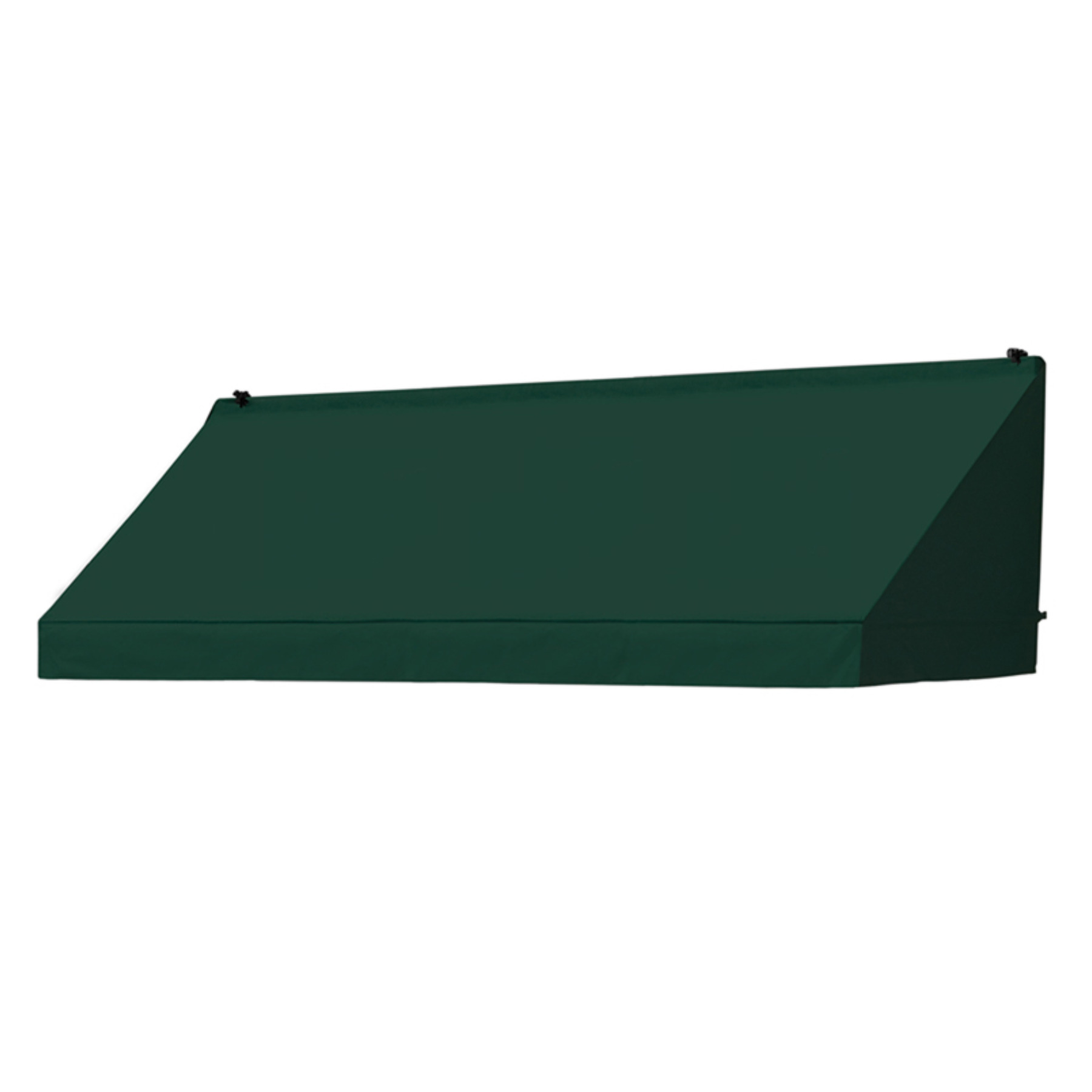 8' Traditional Awnings in a Box, Forest Green