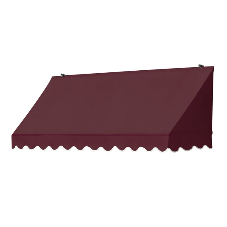 6' Traditional Awnings in a Box Replacement Cover ONLY - Burgundy