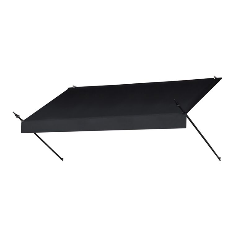 8' Designer Awnings in a Box Replacement Cover ONLY - Ebony