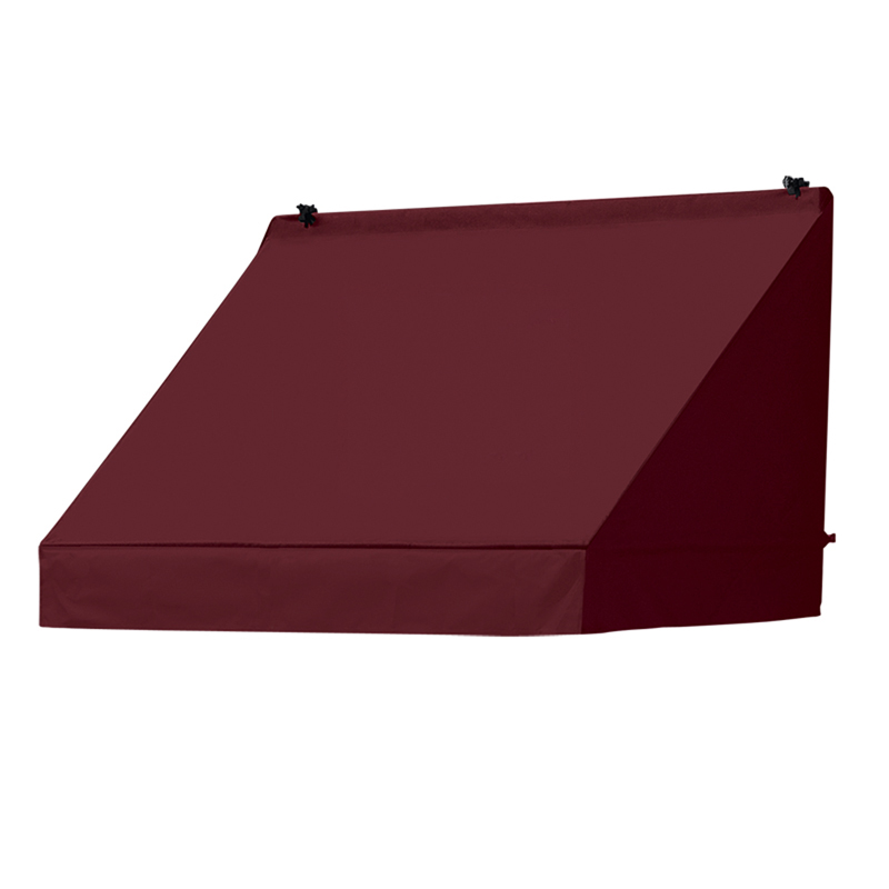 4' Classic Awnings in a Box Burgundy