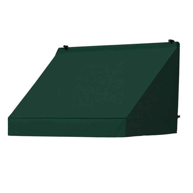 4' Classic Awnings in a Box Forest Green