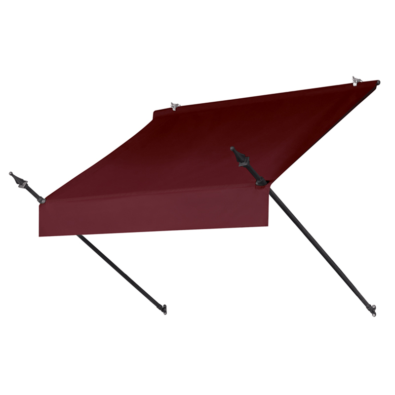 4' Designer Awnings in a Box Burgundy