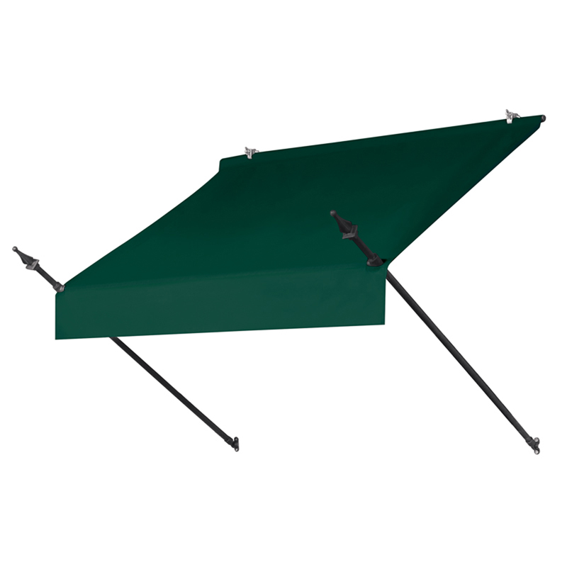 4' Designer Awnings in a Box Forest Green