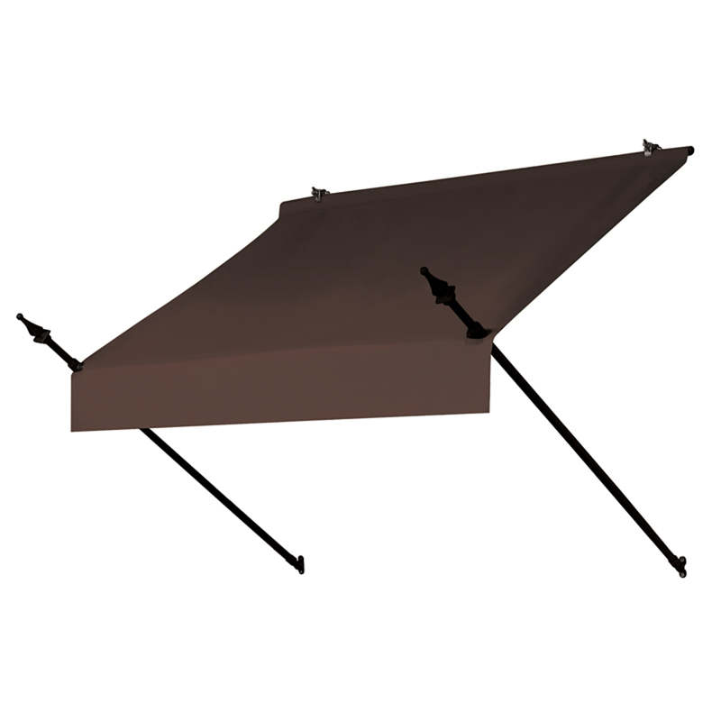 4' Designer Awnings in a Box Cocoa