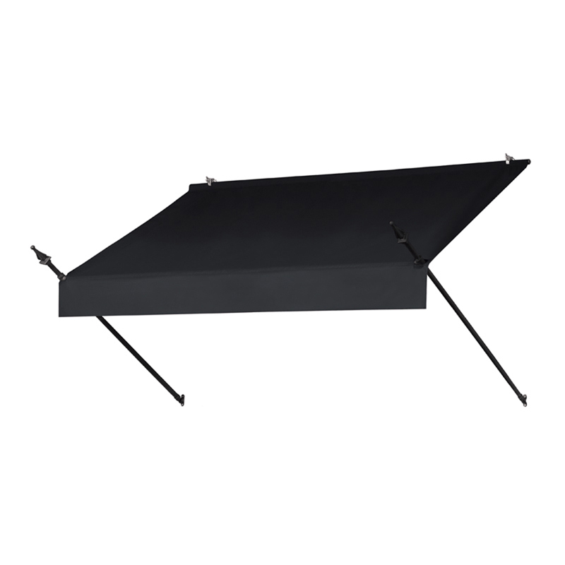 6' Designer Awnings in a Box Ebony