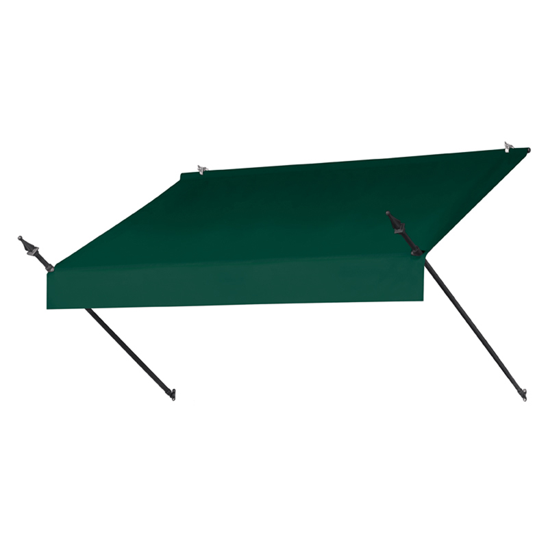 6' Designer Awnings in a Box Forest Green