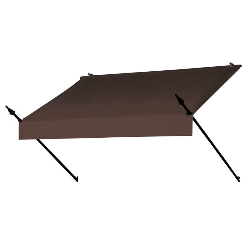 6' Designer Awnings in a Box Cocoa