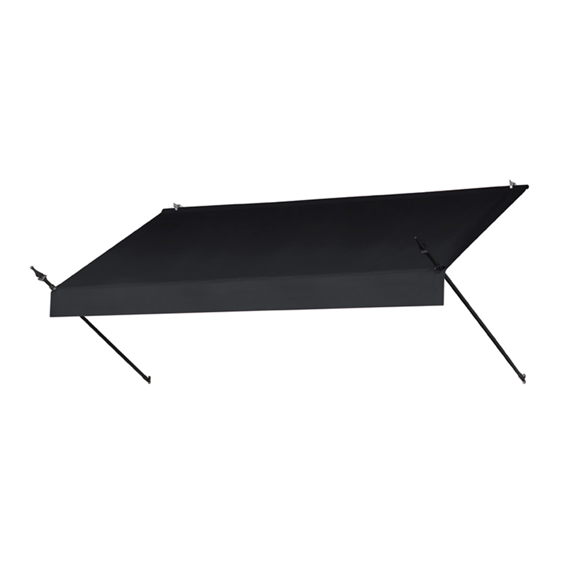 8' Designer Awnings in a Box Ebony