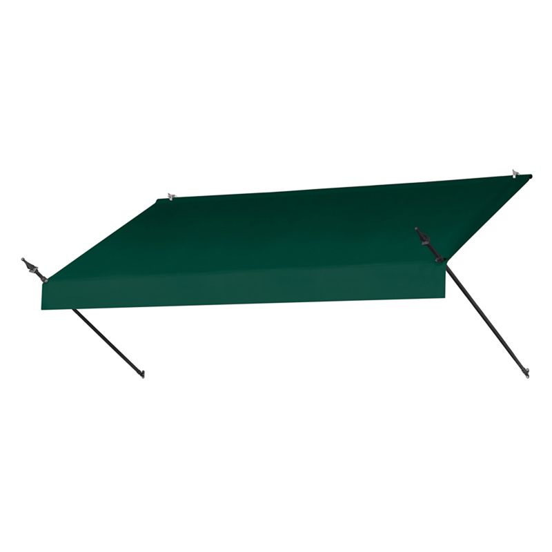 8' Designer Awnings in a Box Forest Green