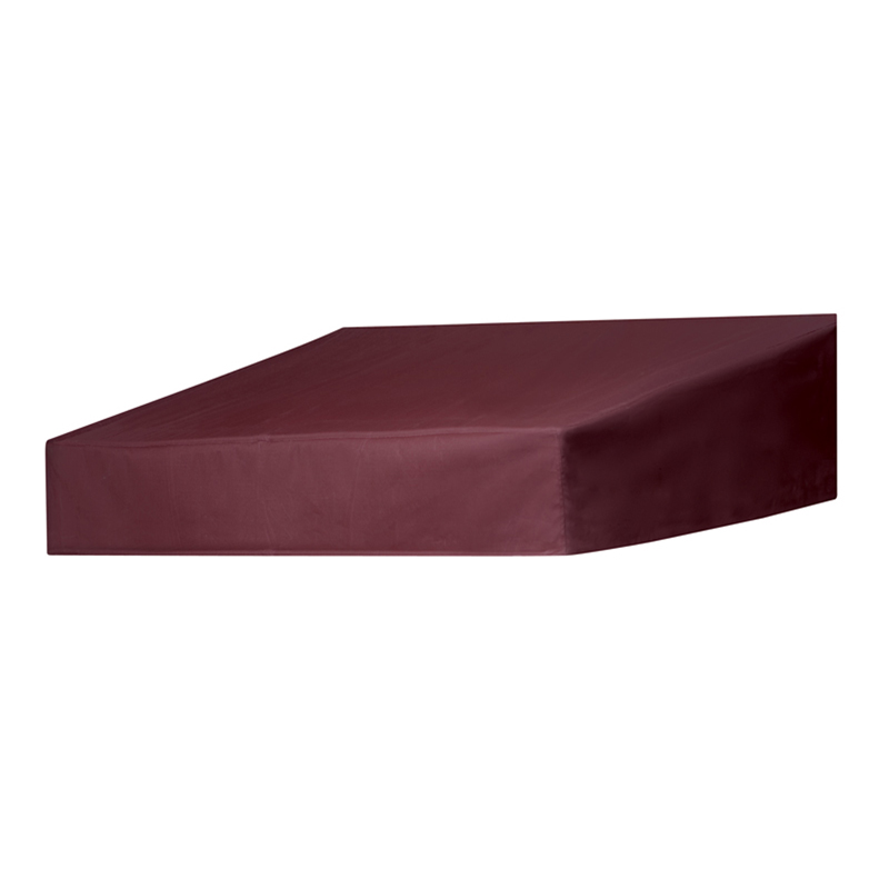 4' Classic Door Canopy in a Box Burgundy