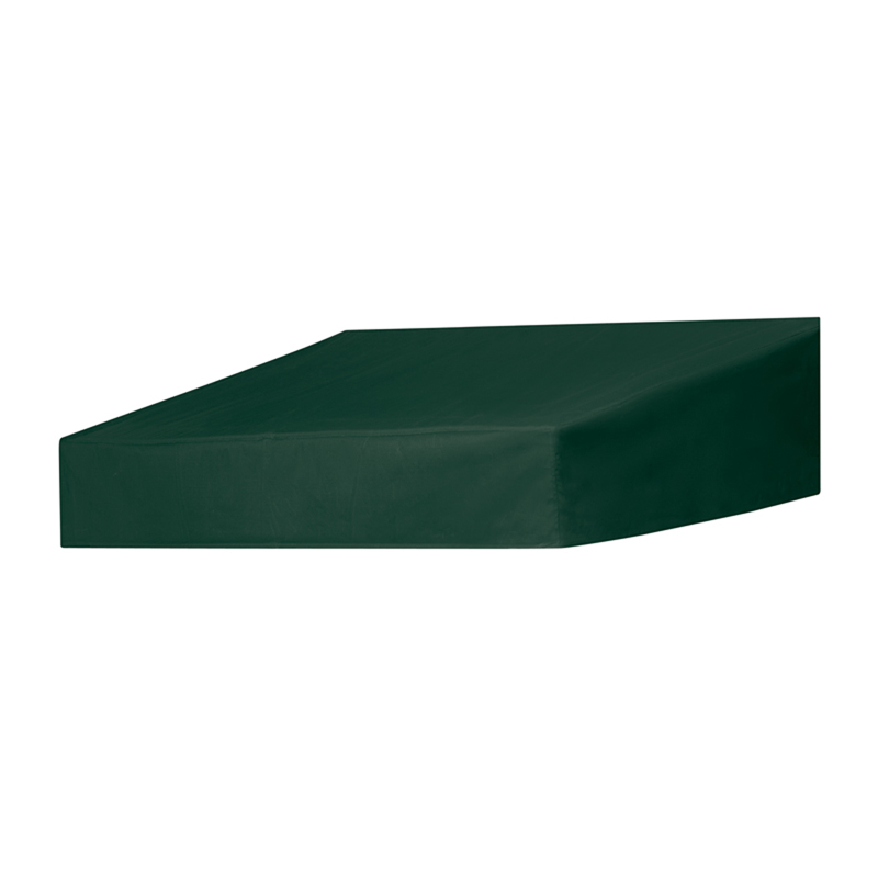 4' Classic Door Canopy in a Box Forest Green