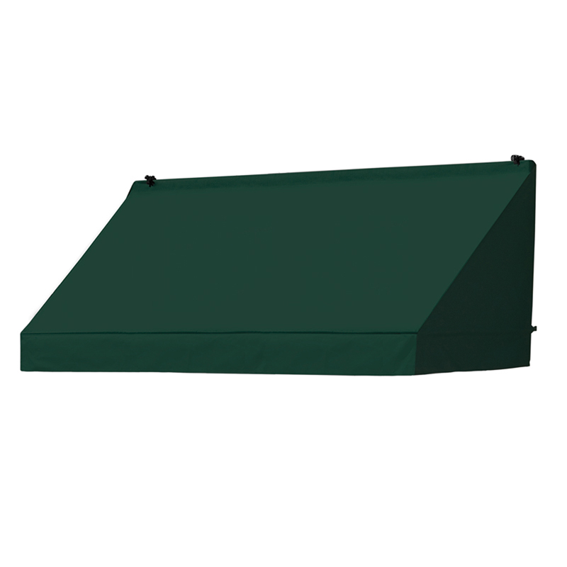 6' Traditional Awnings in a Box Replacement Cover ONLY - Forest Green