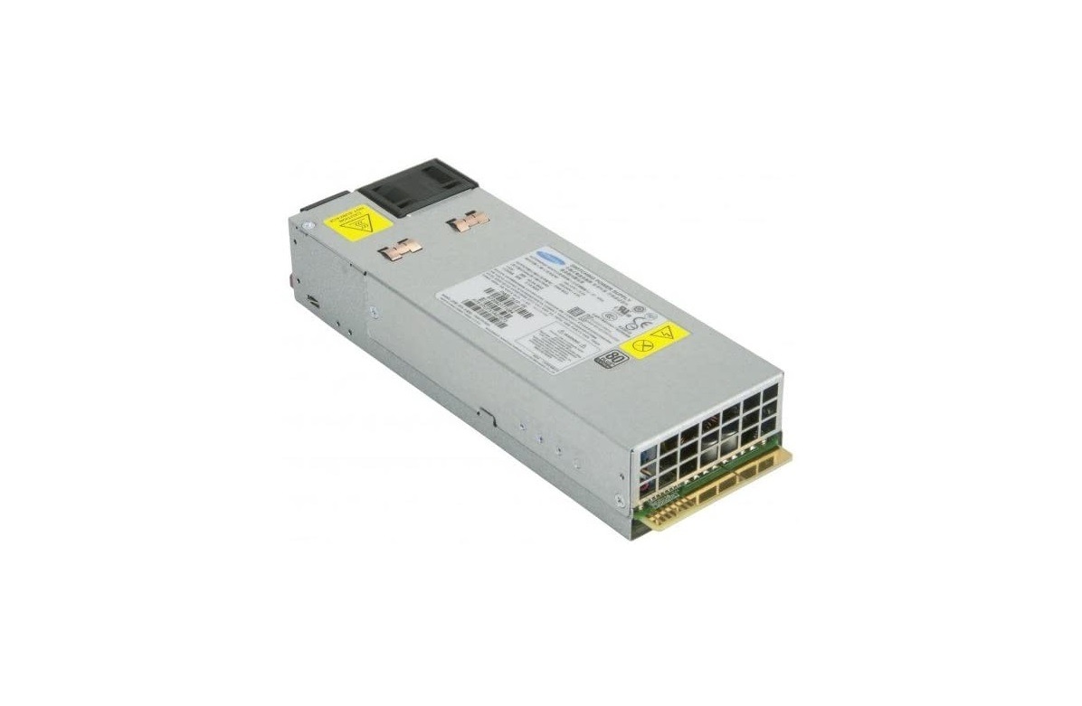 750W SuperMicro 80 Plus Platinum 1U Redundant Power Supply PWS-750P-1R