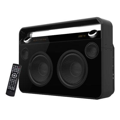 Bluetooth Boombox Black