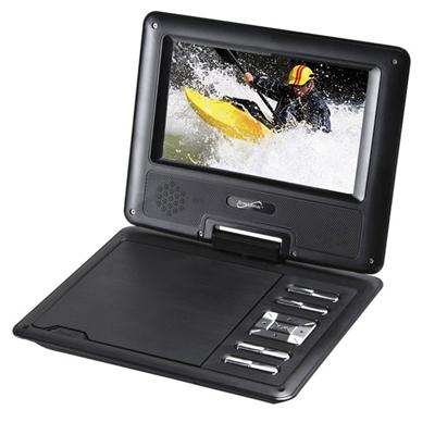 "7"" Portable DVD w USB"