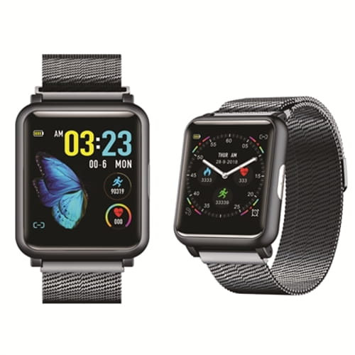 ECG PPG BP Smartwatch