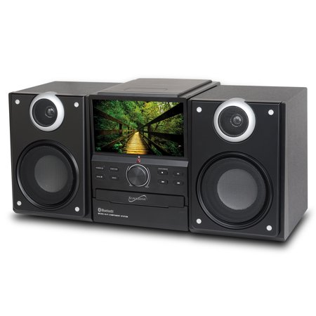 "BT Stereo System w 7""TV DVD"