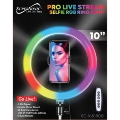 "10"" Pro Live Steam RGB Selfie"