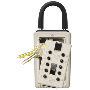 Keysafe Portable Push, Clay