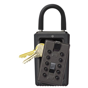 Keysafe Portable Push, Black