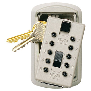 Keysafe Slimline Push, Clay