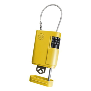 Portable Stor-A-Key, Yellow