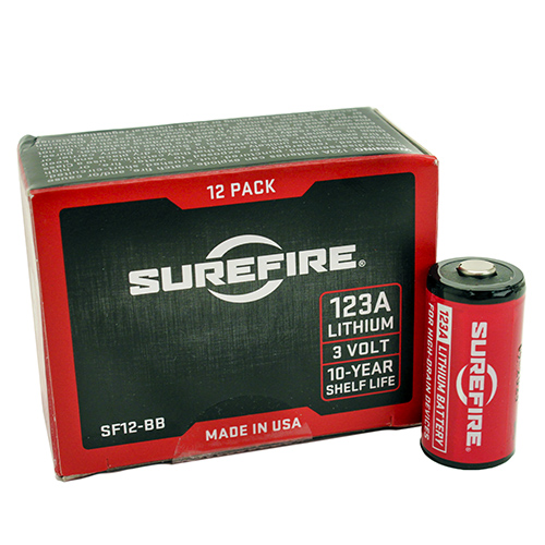 12 SF123A Batteries,Boxed