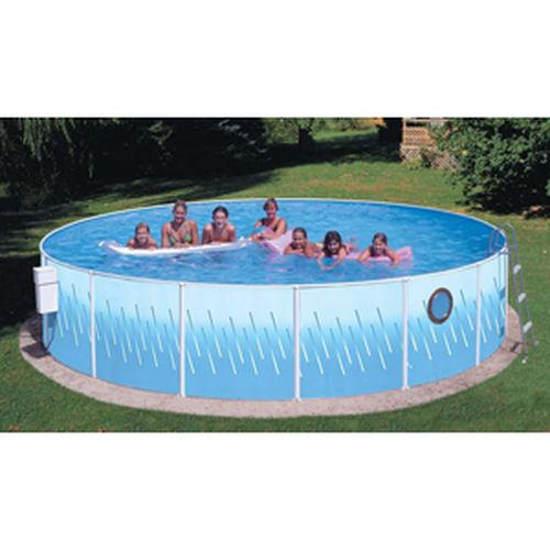 "Deluxe w/Porthole 12' x 42"" Deep Splasher Pool"