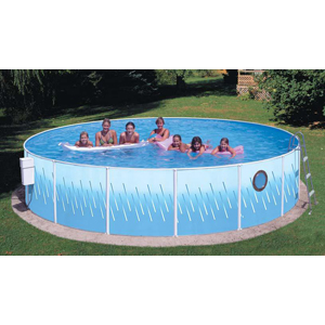 "Deluxe w/Porthole 15' x 42"" Deep Splasher Pool"