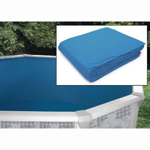 "Round Solid Blue Liners 24' x 48""/52"" - 20 Gauge"