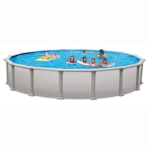 "Paragon 8' 9"" Round 52"" Resin/Steel Above Ground Pool"