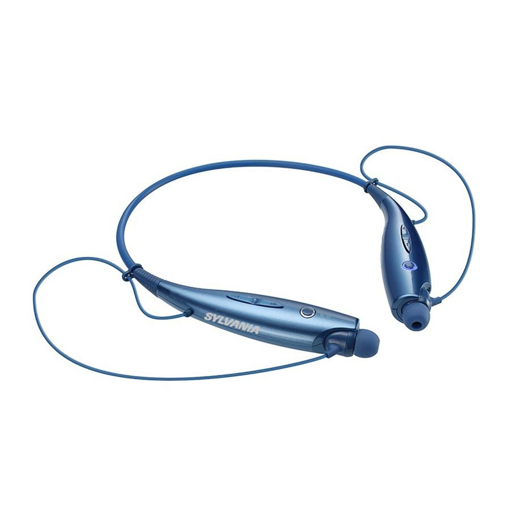 Sylvania Active Wear Sports Bluetooth Headphones, Blue