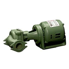 "BRONZE CIRCULATOR PUMP  2"" FLANGED 1/6 HP"