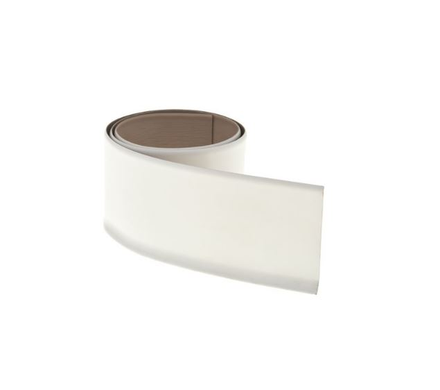 TARKETT VINYL COVE BASE, WHITE, 4 IN. X 4 FT., PACK OF 30