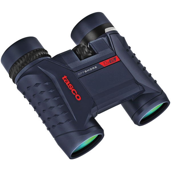Tasco 200125 Offshore 10 x 25mm Waterproof Folding Roof Prism Binoculars