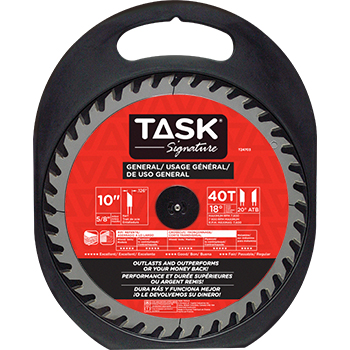 "10""x40Tx5/8"" TASK Signature General Purpose Blade"