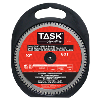 "10""x80Tx5/8"" TASK Signature Compound Mitre Blade"