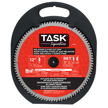 "12""x96Tx1"" TASK Signature Melamine & Fine Cut Blade"