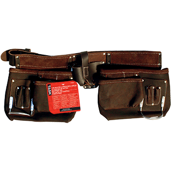 LS - Carpenter's Apron - Oil Tanned - Leather Belt - 12 pocket