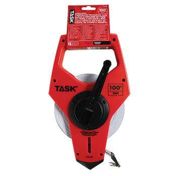 100' (30M) Open Reel Fiberglass Long Tape w/3X Gear